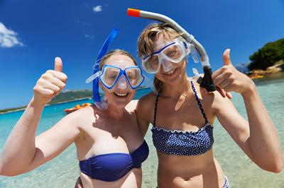 観光とダイビング