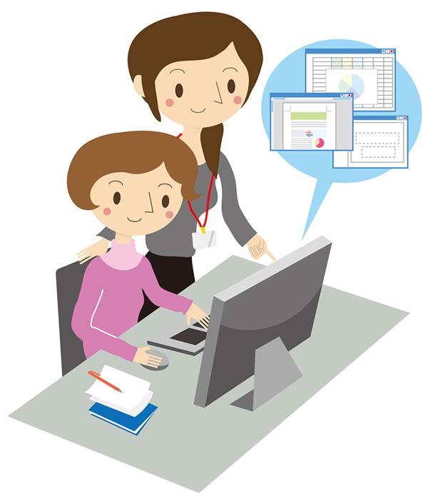 仕事を教えることは評価される?